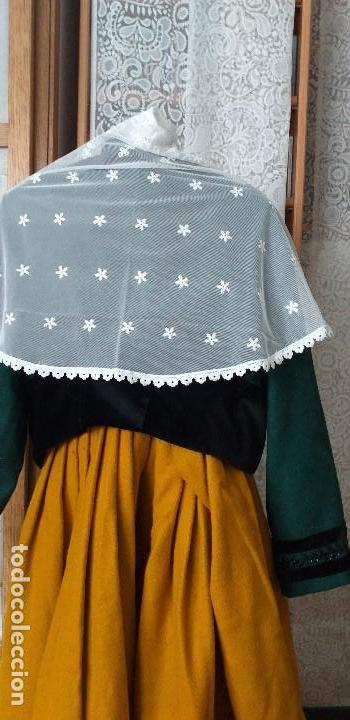 Antigüedades: pañuelo bobiné bordado indumentaria folclore - Foto 2 - 166901388