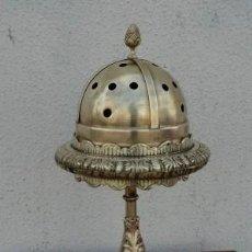 Antigüedades: SAHUMADOR O INCENSARIO DE BRONCE ANTIGUO . Lote 166902936