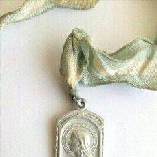 Antigüedades: MEDALLA RELIGIOSA VIRGEN MARÍA. Lote 166919844