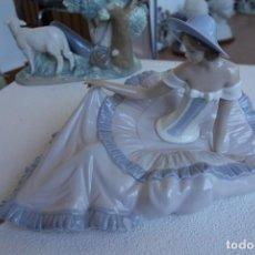 Antigüedades: FIGURA DE PORCELANA DE NAO BY LLADRO.. Lote 166925596