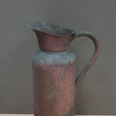Antigüedades: JARRA EN LATÓN. Lote 166927608