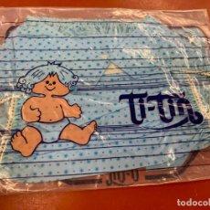 Antigüedades: BRAGUITA INFANTIL PORTAPAÑALES TI-TIN, TITIN, SIN ESTRENAR. TALLA 2. PORTA PAÑALES. Lote 166943184