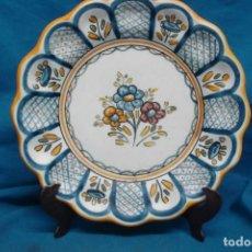 Antigüedades: ANTIGUO PLATO TALAVERA + REGALO. Lote 166954360