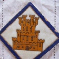 Antigüedades: AZULEJO HERALDICO RAMOS REJANO. Lote 166965520