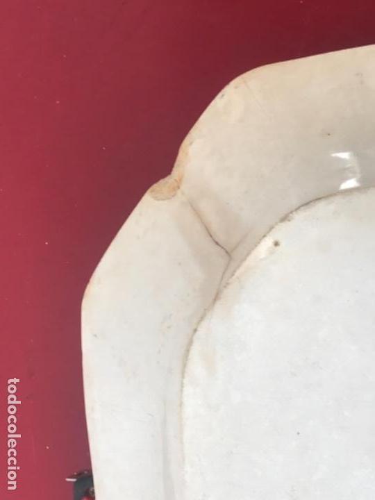 Antigüedades: FUENTE DE CARTAGENA. FABRICA DE LA AMISTAD. ESCENA CAZA DEL TORO. FINALES DEL S. XIX. - Foto 6 - 166986488