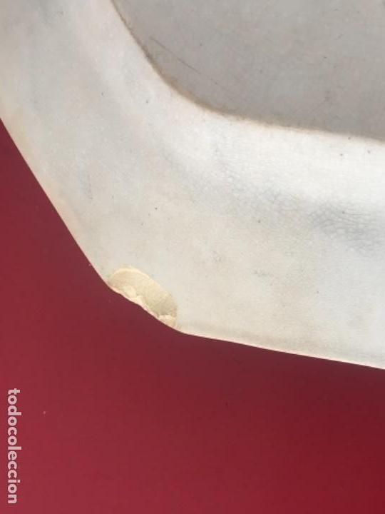 Antigüedades: FUENTE DE CARTAGENA. FABRICA DE LA AMISTAD. ESCENA CAZA DEL TORO. FINALES DEL S. XIX. - Foto 7 - 166986488