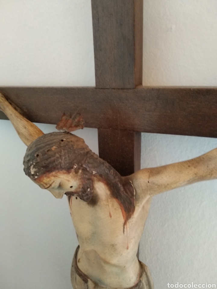 Antigüedades: Crucifijo - Foto 2 - 167019654
