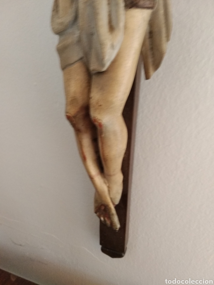 Antigüedades: Crucifijo - Foto 3 - 167019654