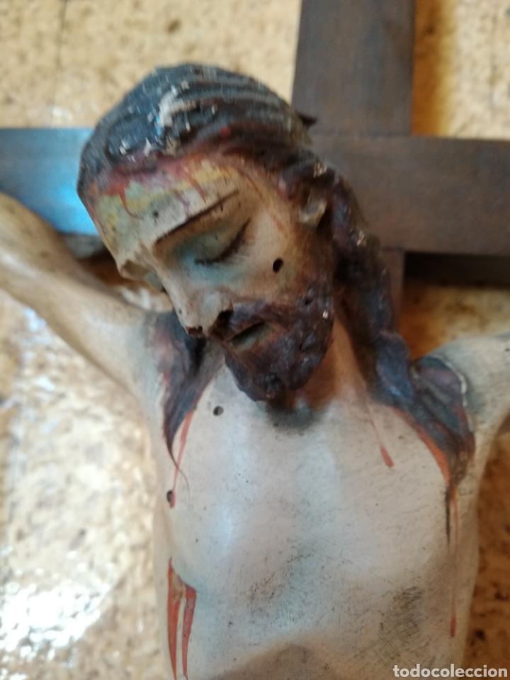 Antigüedades: Crucifijo - Foto 4 - 167019654