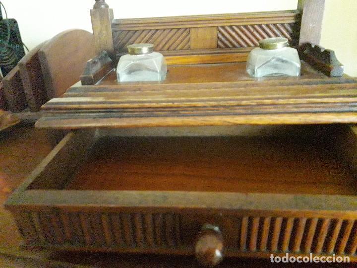 Antigüedades: Escribania madera - Foto 3 - 167021464