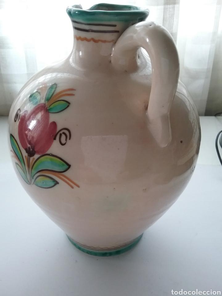 Antigüedades: Cántaro de cerámica Fraile Arzobispo pintado a mano. - Foto 3 - 167023456