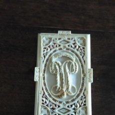 Antigüedades: ANTIGUA FILIGRANA DE MARFIL. Lote 167039900