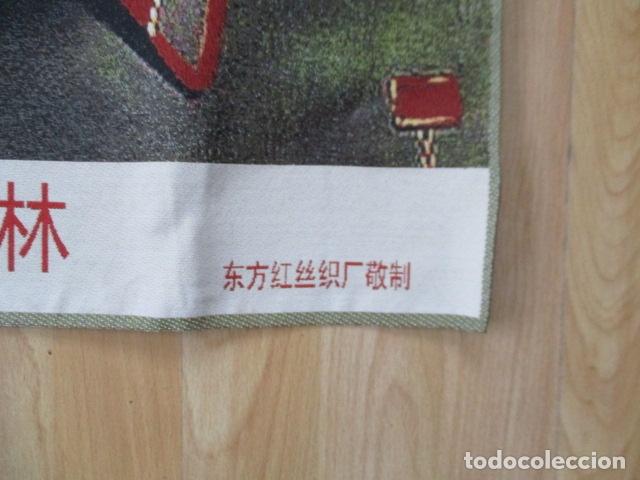 Antigüedades: Precioso tapiz de STALIN. Las letras en Chino / 89 x 59 cm. En perfecto estado. - Foto 7 - 167055000