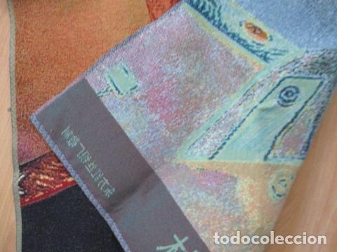 Antigüedades: Precioso tapiz de STALIN. Las letras en Chino / 89 x 59 cm. En perfecto estado. - Foto 10 - 167055000