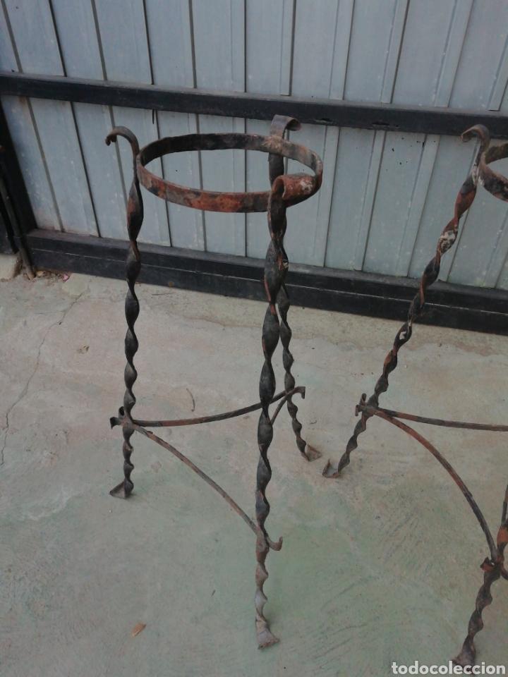 Antigüedades: Jardíneras de hierro - Foto 3 - 167078232