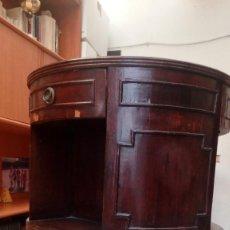 Antigüedades: MESA BOUREAU REDONDA.. Lote 167108800