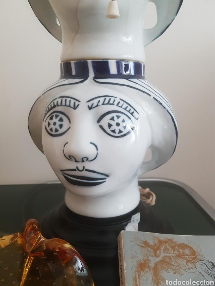 LAMPARA CASTRO SARGADELOS. (Antigüedades - Porcelanas y Cerámicas - Sargadelos)
