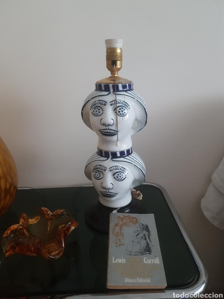 Antigüedades: Lampara Castro Sargadelos. - Foto 2 - 167126910
