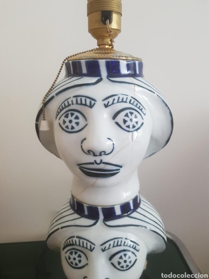 Antigüedades: Lampara Castro Sargadelos. - Foto 6 - 167126910