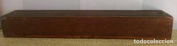 Antigüedades: Abanico valenciana y albufera con varillas madera años 40-50 - Foto 5 - 167132276