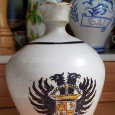Antigüedades: JARRA - ACEITERA PORTLAND IBERIA, SELLADA TALAVERA. ESCRITO SOY DE PORTLAND IBERIA. ESPAÑA, SIGLO XX. Lote 167139044