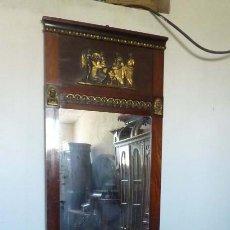 Antigüedades: CONSOLA Y ESPEJO ESTILO IMPERIO. Lote 167139088