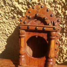 Antigüedades: MUEBLE PORTA CUBIERTOS Y ALMIRECES.. Lote 147575336
