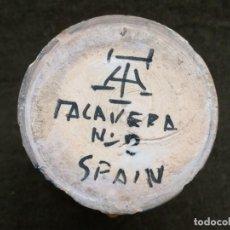 Antigüedades: PEQUEÑO JARRON DE TALAVERA.17 CM.TALAVERA Nº2. Lote 167142032
