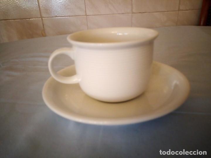 Antigüedades: Bonito solitario de té o desayuno de potcelana thomas rosenthal group germany - Foto 2 - 167175544