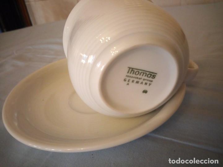 Antigüedades: Bonito solitario de té o desayuno de potcelana thomas rosenthal group germany - Foto 4 - 167175544