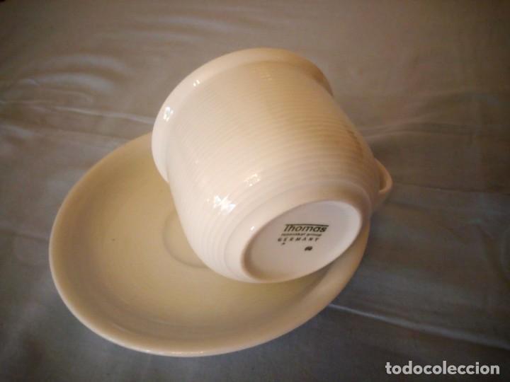Antigüedades: Bonito solitario de té o desayuno de potcelana thomas rosenthal group germany - Foto 5 - 167175544