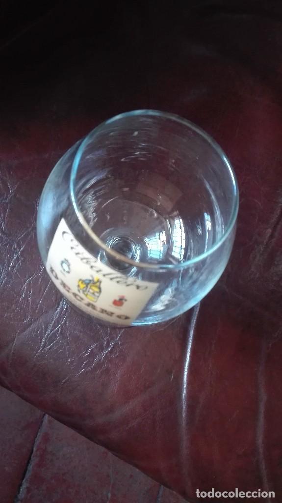 Antigüedades: Copa de coñac con publicidad Decano. - Foto 2 - 167240352