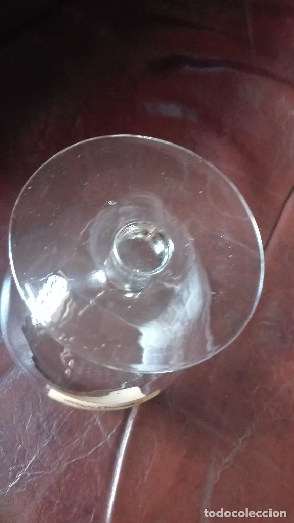 Antigüedades: Copa de coñac con publicidad Decano. - Foto 3 - 167240352