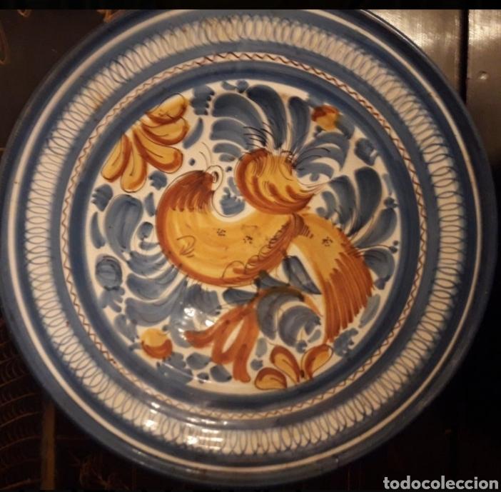 Antigüedades: Ceramica Talavera plato - Foto 3 - 167246970