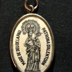 Antigüedades: ANTIGUA MEDALLA LERIDA MARE DE DEU DE LA PAU ALERTORN ARTESA DE SEGRE LLEIDA. Lote 167458004