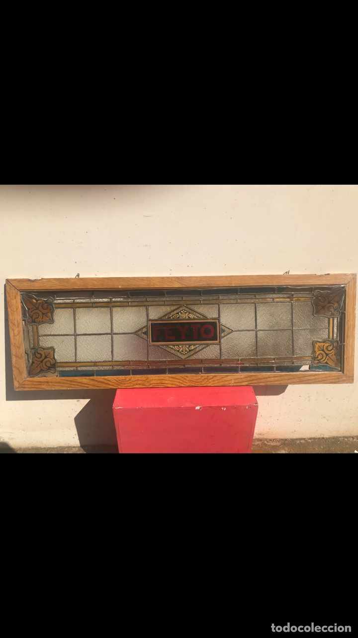 Antigüedades: ROTULO JOYA MODERNISTA BARCELONA 1900 LETRERO IMPRENTA HISTORICO CASA FEYTO PLAZA REAL CRISTAL MUSEO - Foto 10 - 167507704