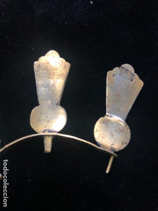 Antigüedades: ANTIGUAS POTENCIAS DE PLATA DORADAS - MEDIDA 4 CM - NIÑO JESUS - RELIGIOSO - CRISTO - SEMANA SANTA - Foto 5 - 167527872