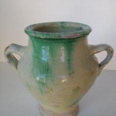 Antigüedades: PUCHERO ALFARERÍA TRADICIONAL DE ÚBEDA. Lote 167542132