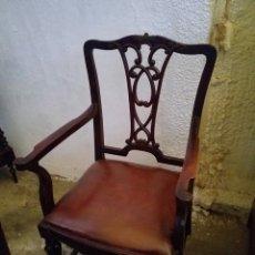 Antigüedades: PAREJA DE SILLONES. Lote 167546169