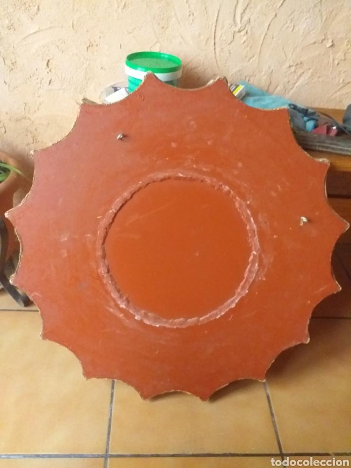 Antigüedades: PRECIOSO ESPEJO SOL, MUY BONITO, OJO NO SE ENVIA - Foto 8 - 167569138