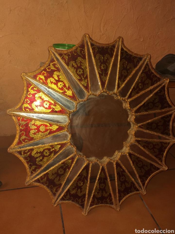 Antigüedades: PRECIOSO ESPEJO SOL, MUY BONITO, OJO NO SE ENVIA - Foto 14 - 167569138