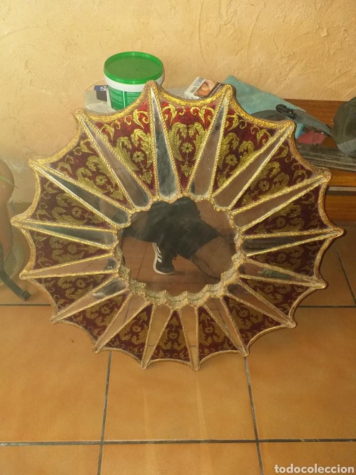 Antigüedades: PRECIOSO ESPEJO SOL, MUY BONITO, OJO NO SE ENVIA - Foto 15 - 167569138