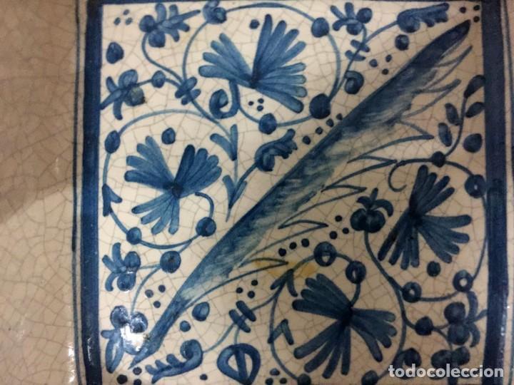 Antigüedades: CENICERO DE CERÁMICA DE MANISES FIRMA BENNLLOCH - Foto 2 - 167577388