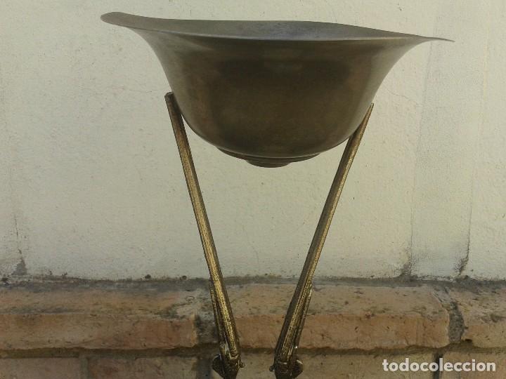 Antigüedades: Precioso y antiguo trofeo de caza de tiro con escopeta , alto 40 cm - Foto 3 - 167577540