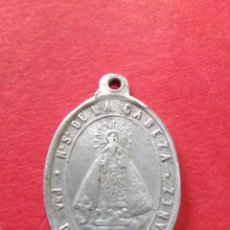 Antigüedades: ANTIGUA MEDALLA DE NTRA. SRA. DE LA CABEZA.. CASAS IBAÑEZ. ALBACETE. 2,2 X 3,3 CM.. Lote 167587265