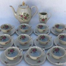 Antigüedades: JUEGO CAFÉ EN PORCELANA ALEMANA. Lote 167587940