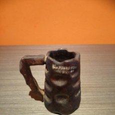 Antigüedades: ANTIGUA TAZA DE MADERA RECUERDO MONASTERIO DE PIEDRA. Lote 167589156