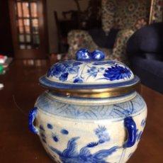Antigüedades: ANTIGUO TIBOR CHINO. Lote 167593649