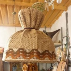 Antigüedades: LAMPARA MANISES. Lote 167594852