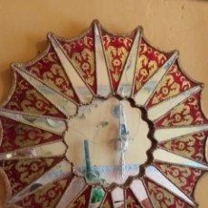 Antigüedades: PRECIOSO ESPEJO SOL, MUY BONITO, OJO NO SE ENVIA. Lote 167569138